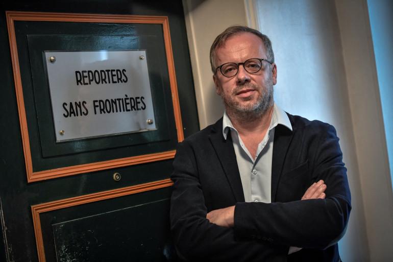 Christophe Deloire, secrétaire général de Reporters sans frontières (RSF).