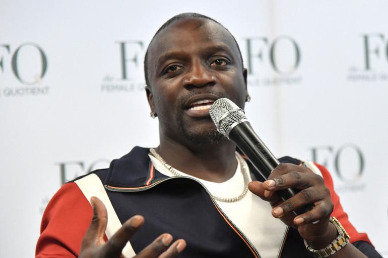 Akon en 2018 à New York