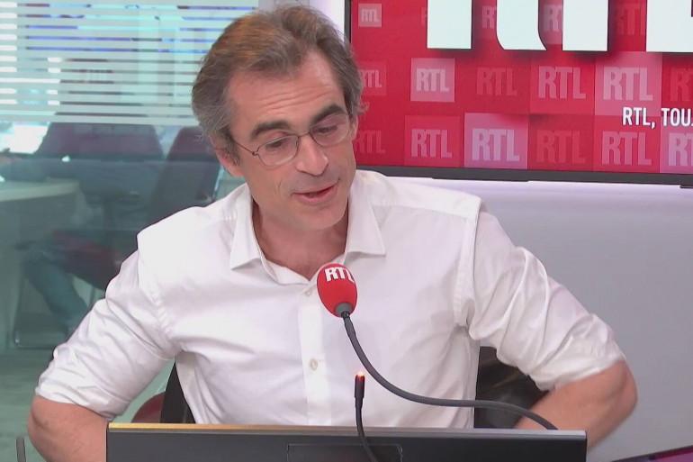 Raphaël Enthoven était l'invité de RTL.