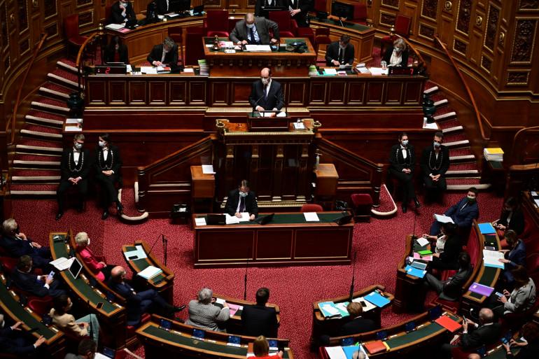 Photo du Sénat le 1er avril 2021. (Illustration)