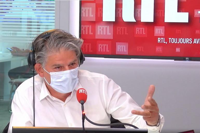 Jacques Cardoze, invité sur RTL