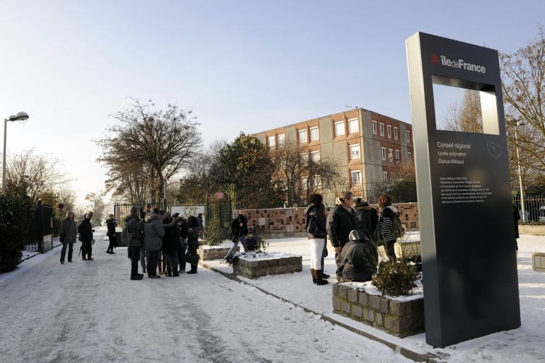 Le lycée Darius Milhaud, au Kremlin Bicêtre
