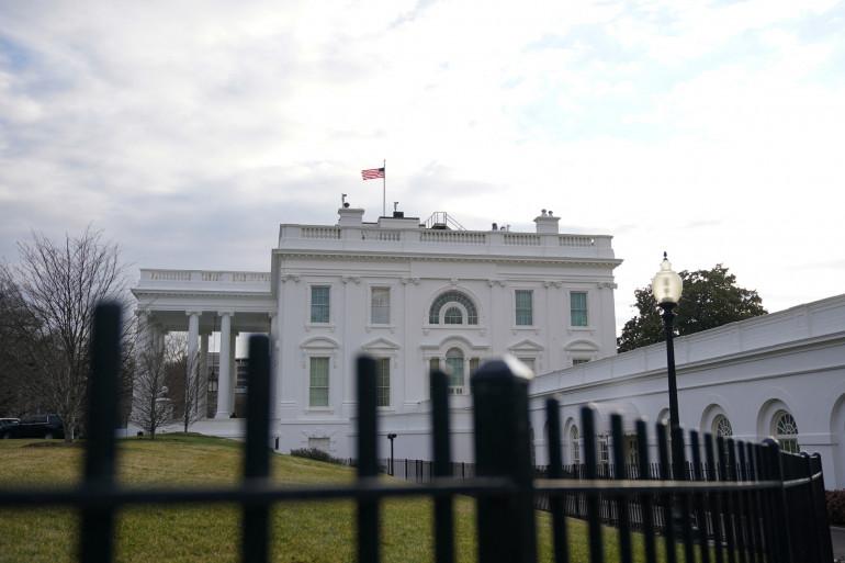 Photo de la Maison Blanche, Washington, le 19 janvier 2021. (Illustration)