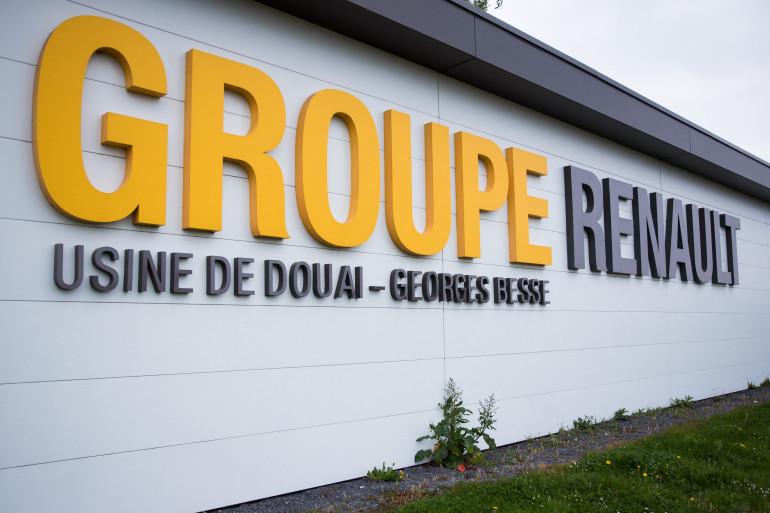 L'usine Renault à Douai, dans le Nord.
