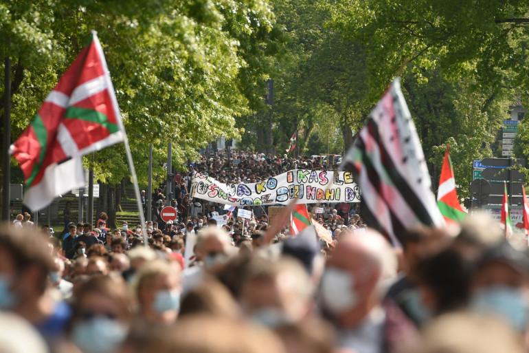 Des milliers de personnes se sont rassemblées dans le cadre d'une journée nationale d'action pour la défense des langues régionales, notamment à Bayonne.