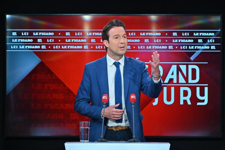 Guillaume Peltier est l'invité du Grand Jury ce dimanche 30 mai 2021.