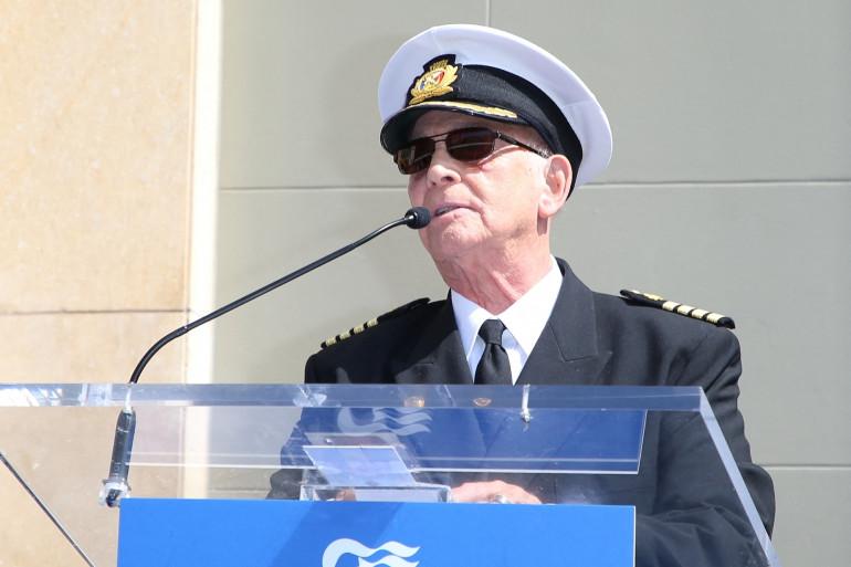 """Gavin Macleod assiste à une cérémonie en l'honneur de """"The Love Boat"""" le 10 mai 2018 à Hollywood, Californie."""