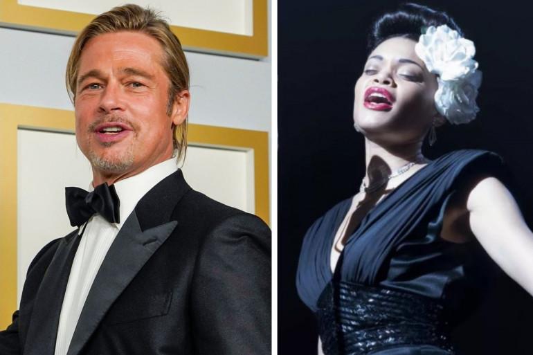 Andra Day et Brad Pitt se sont rencontrés à la soirée des Oscars 2021