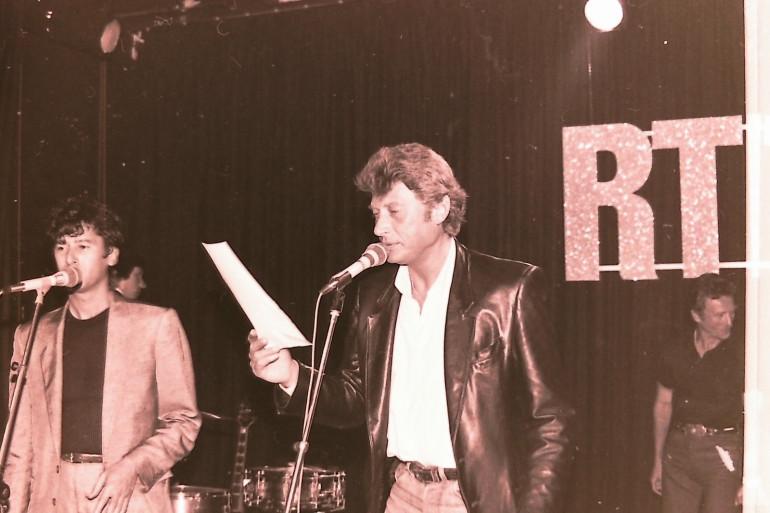 Johnny Hallyday au micro de RTL