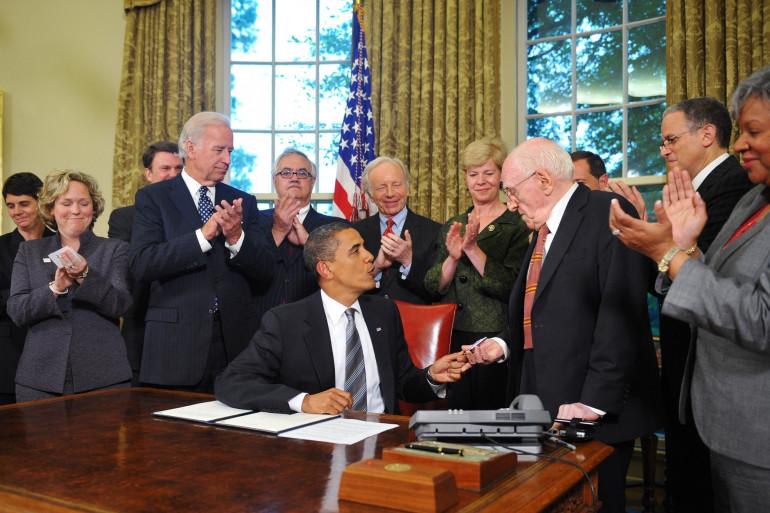 Barack Obama recevait Frank Kameny à la Maison Blanche