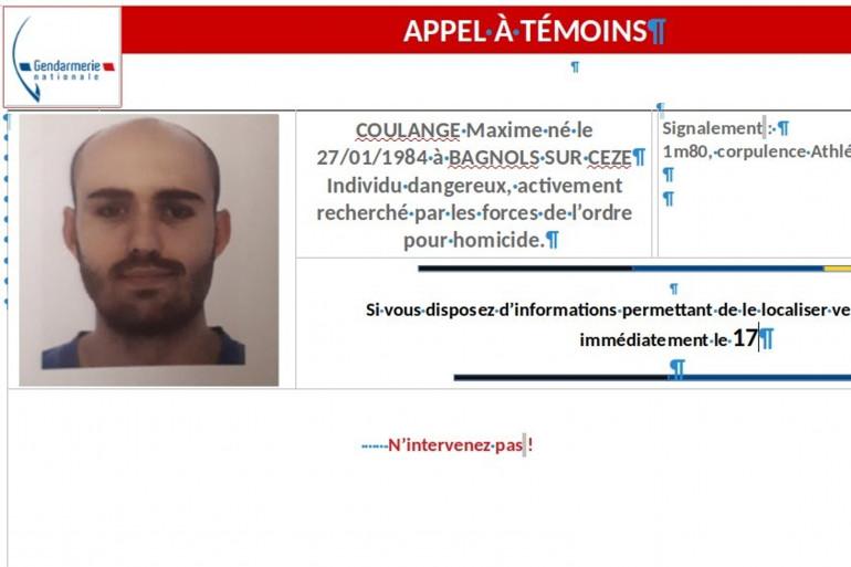 Appel à témoins pour retrouver Maxime Coulange