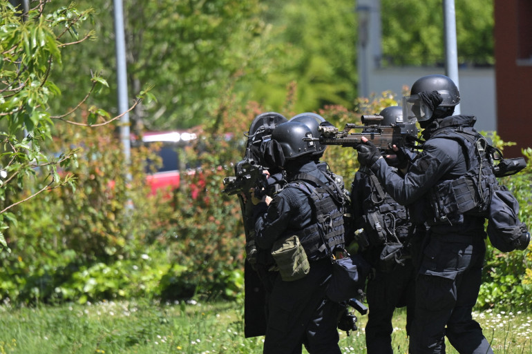 Le groupe d'intervention de la gendarmerie nationale (GIGN), ici à La Chapelle-sur-Erdre