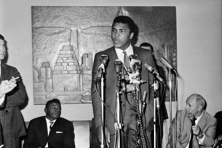 Mohamed Ali le 26 octobre 1970