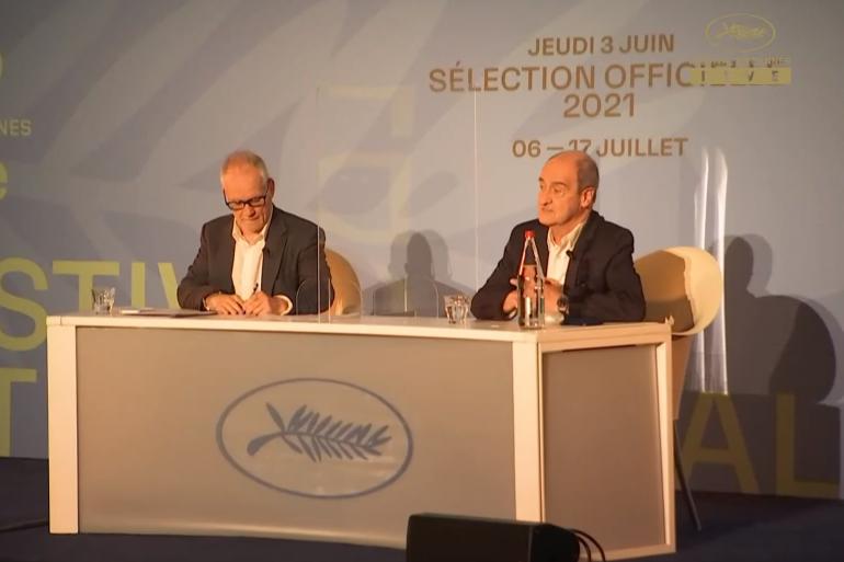 Pierre Lescure, Président du Festival de Cannes, et Thierry Frémaux, Délégué Général