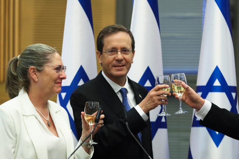 Isaac Herzog a été élu président d'Israël le 2 juin 2021.
