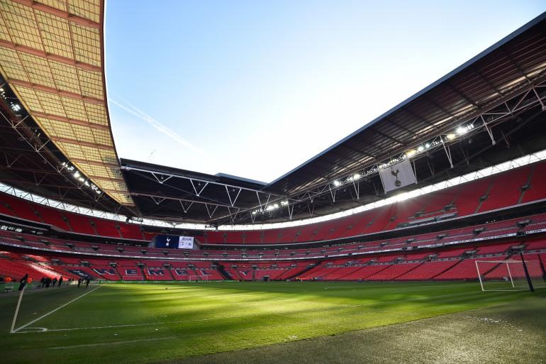 Vue intérieure de Wembley en février 2019