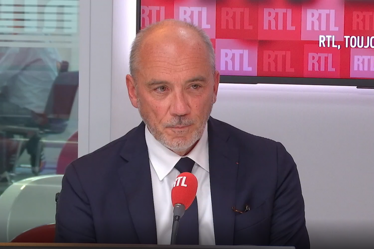 Stéphane Richard, le PDG de Orange, était l'invité de RTL soir jeudi 3 juin 2021.
