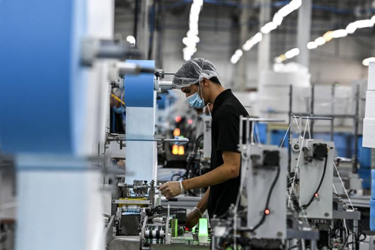Une usine. Photo d'illustration.