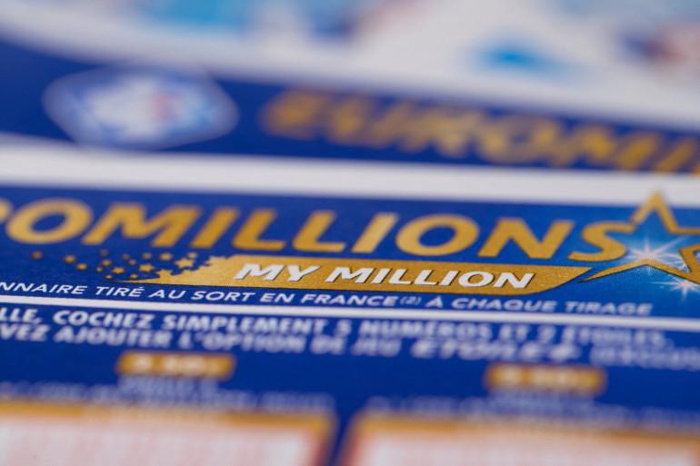 Un ticket de l'Euromillions. (Illustration)