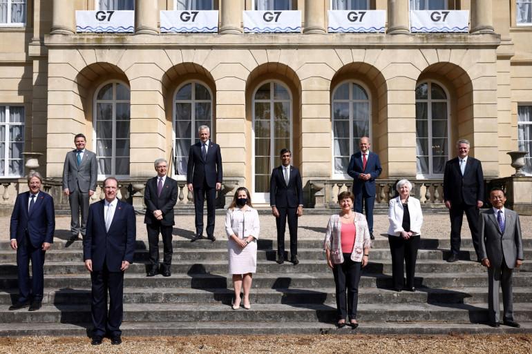 Le G7 Finance le 5 juin 2021