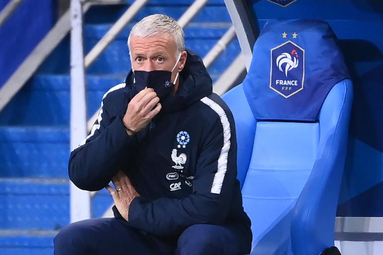 Didier Deschamps au Stade de France le 11 novembre 2020
