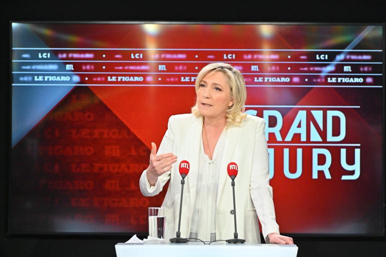 Marine Le Pen invitée du Grand Jury