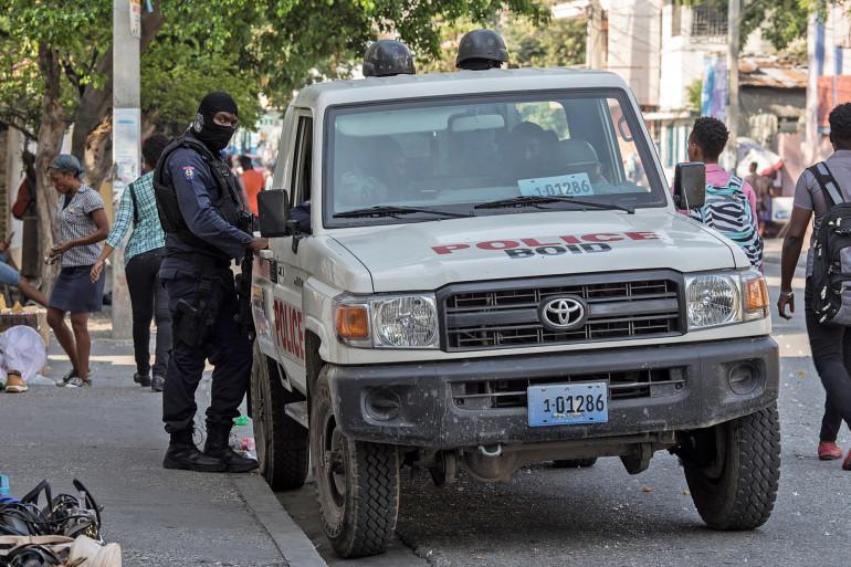Une voiture de police à Port-au-Prince (illustration)