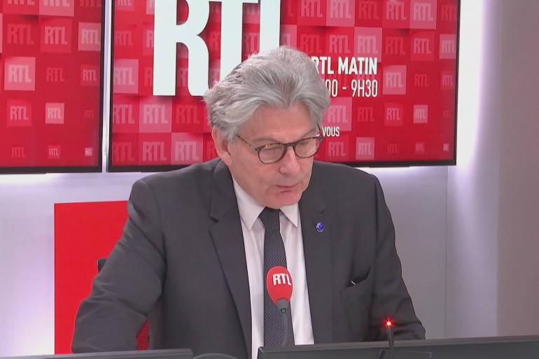 Thierry Breton est l'invité de Benjamin Sportouch