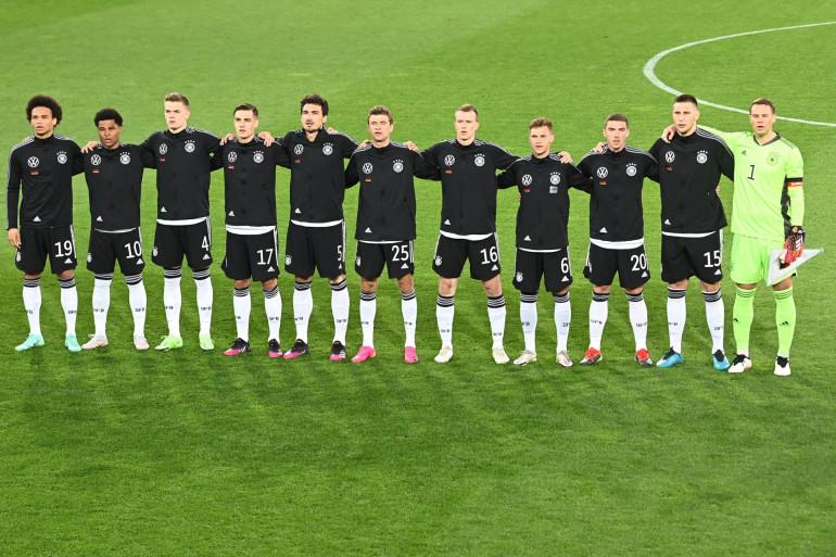 La sélection allemande avant un match amical face au Danemark, le 2 juin à Innsbruck (Autriche)