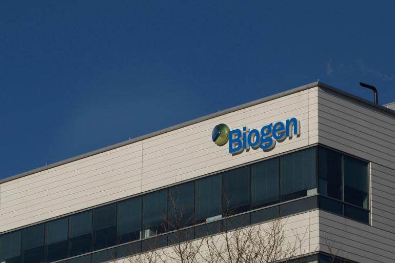 L'entreprise pharmaceutique américaine Biogen (illustration)