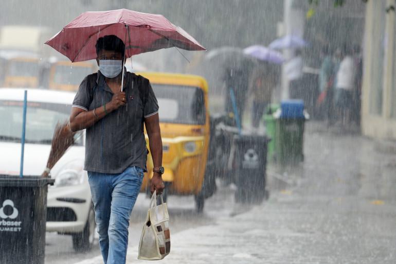 La mousson, en Inde. Photo d'illustration.