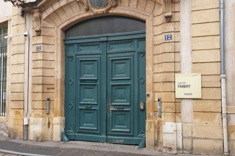 Lycée Fabert à Metz.