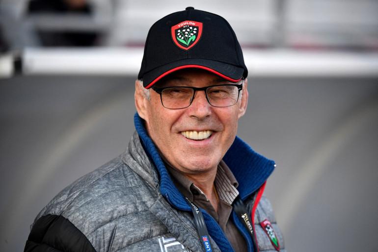 Le président du Rugby Club Toulonnais, Bernard Lemaître