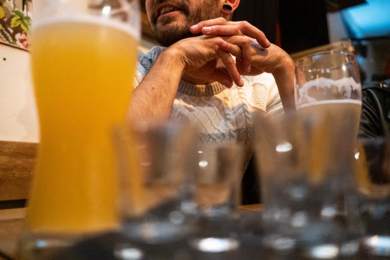 Un consommateur d'alcool.