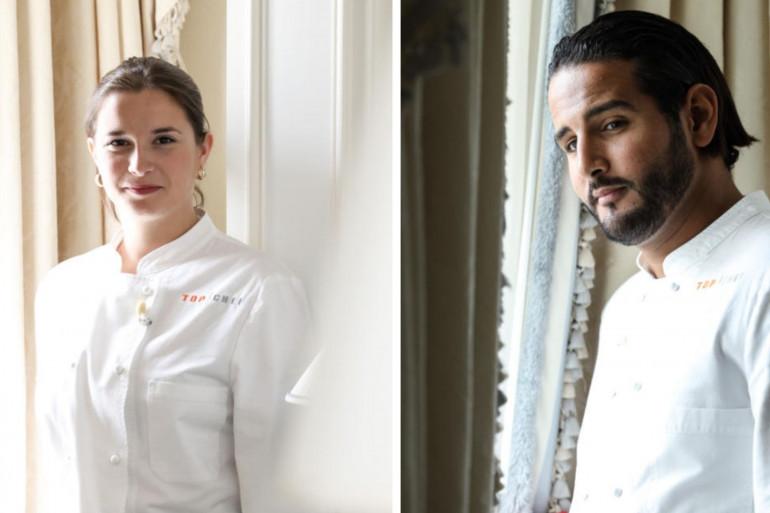 """Sarah et Mohamed sont les finalistes de la saison 12 de """"Top Chef"""""""