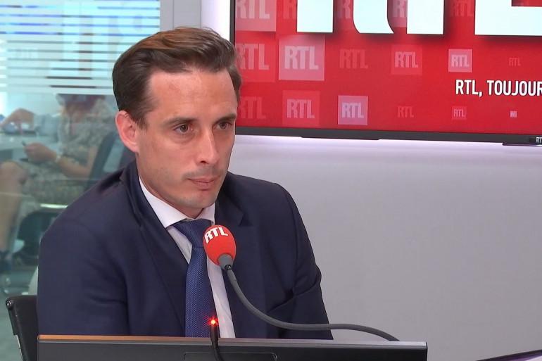 Jean-Baptiste Djebbari était l'invité de RTL Soir, le 9 juin 2021