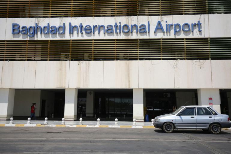 L'aéroport de Bagdad (illustration).