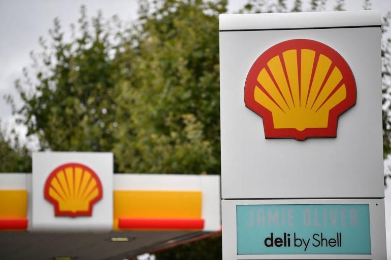 Le logo du groupe pétrolier Shell