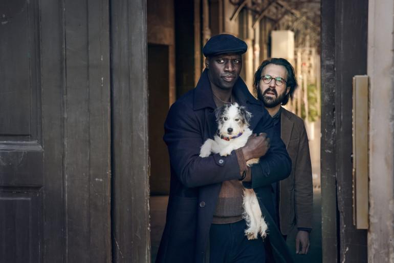 Omar Sy dans le rôle d'Assane Diop, plus discret que jamais