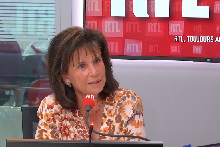 Anne Sinclair était l'invitée de RTL Soir.