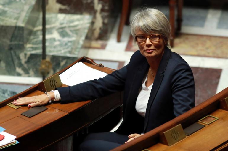 L'ancienne députée Véronique Massonneau, à l'Assemblée nationale, en 2016