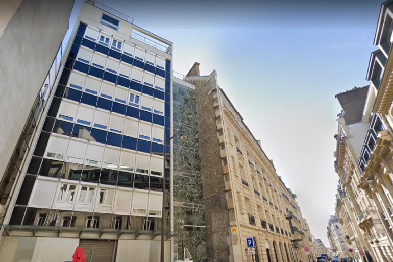 Le nouveau siège de LaREM se situe rue du Rocher dans le VIIIe arrondissement de Paris.