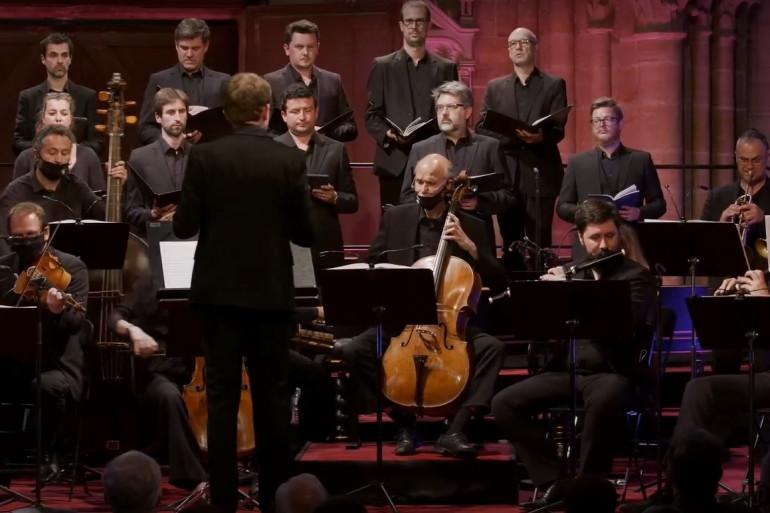 La chapelle harmonique au festival d'Auvers-sur-Oise