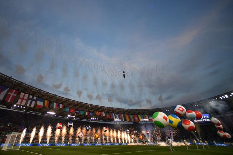 La cérémonie d'ouverture de l'Euro 2021 s'est tenue ce vendredi 11 juin à Rome