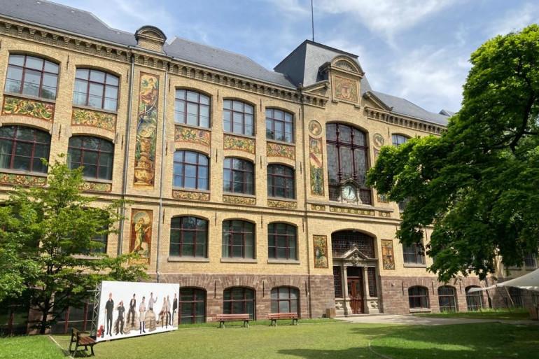 La Haute école des arts du Rhin où un cluster a été identifié