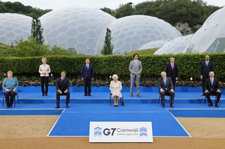 le G7 se déroulait du 11 au 13 juin 2021 à Carbis Bay (Angleterre)