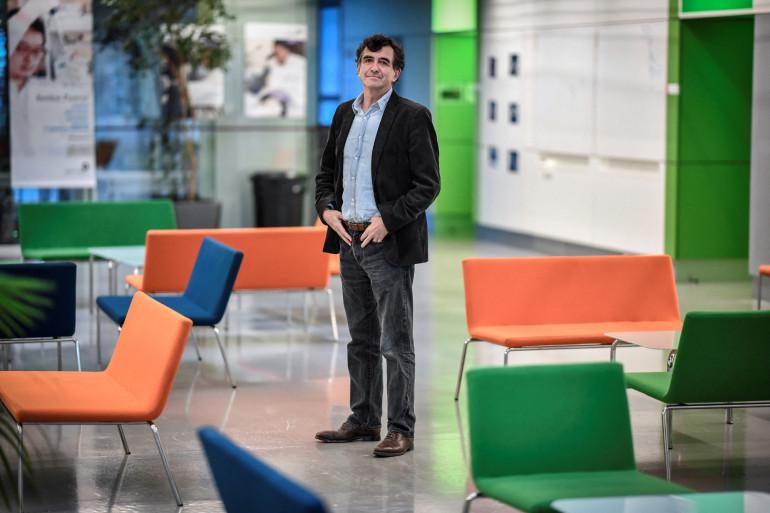 L'épidémiologiste, Arnaud Fontanet, à l'institue Pasteur