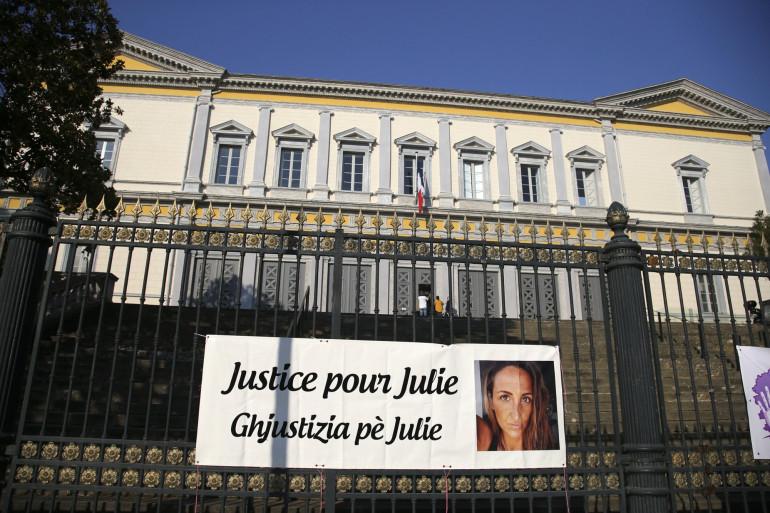 Le procès de Bruno Garcia-Cruciani pour le meurtre de Julie Douib se tient au palais de justice de Bastia