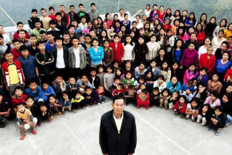 L'homme de 76 ans était à la tête de la plus grande famille du monde.