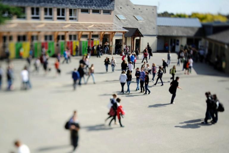 La cour de récréation d'un établissement scolaire (illustration)